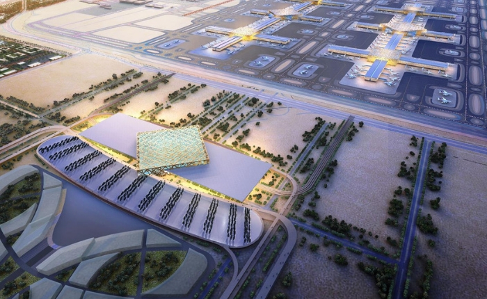 Aéroport, aéroport Dubai Al Maktoum, Aéroport international Dubai, Dubai World Center, projet futur DWC