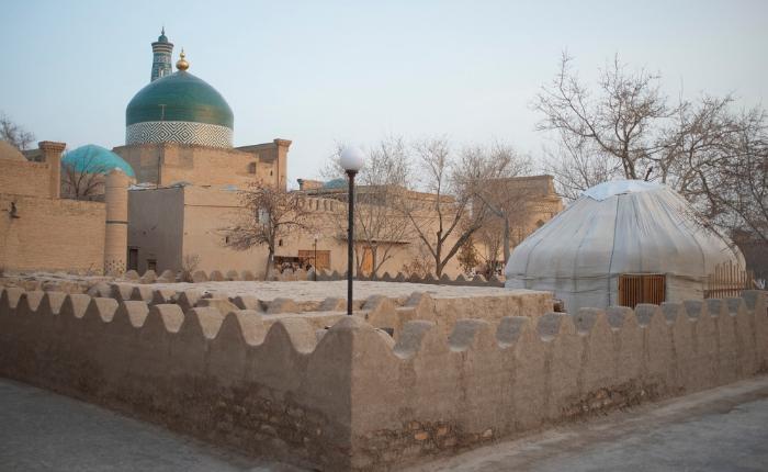 circuit accompagné en ouzbékistan, découvrir l'ouzbékistan, itchan kala, khiva, voyage en asie centrale, la vieille ville