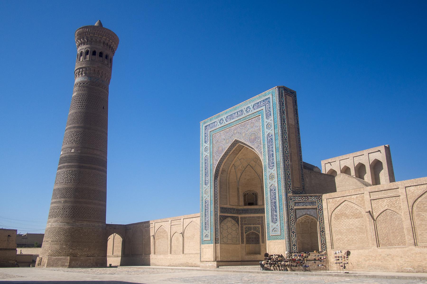 Circuit touristique en Ouzbékistan : la mosquée Kalon à Boukhara