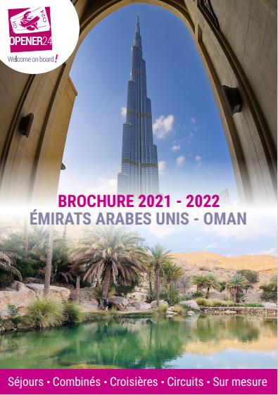 brochure émirats arabes unis oman 2021 2022