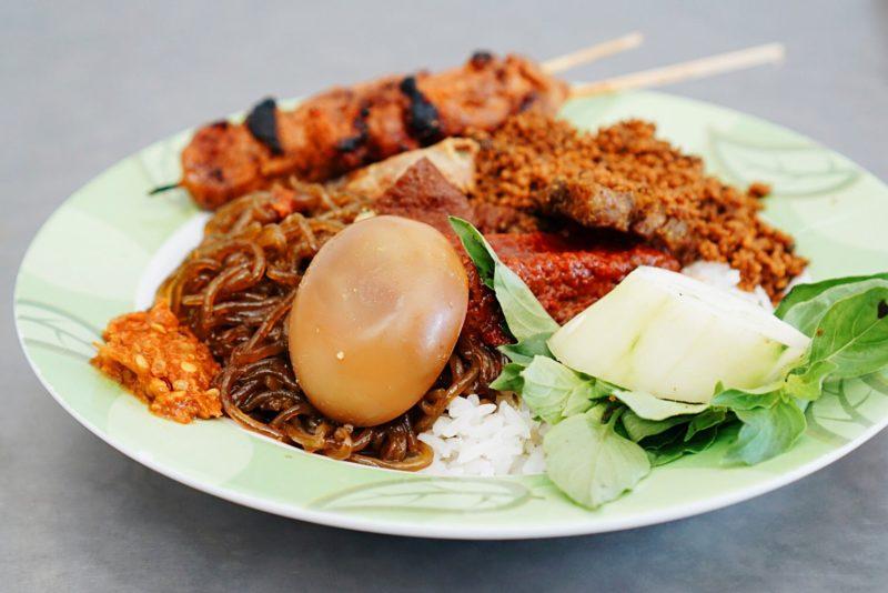 cuisine à bali gastronomie bali nasi campur