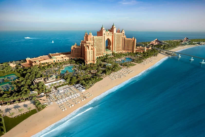 Hôtel atlantis the palm dubai