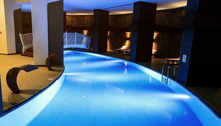Wome deluxe halal all inclusive avec piscine et plage for Hotel avec piscine privative