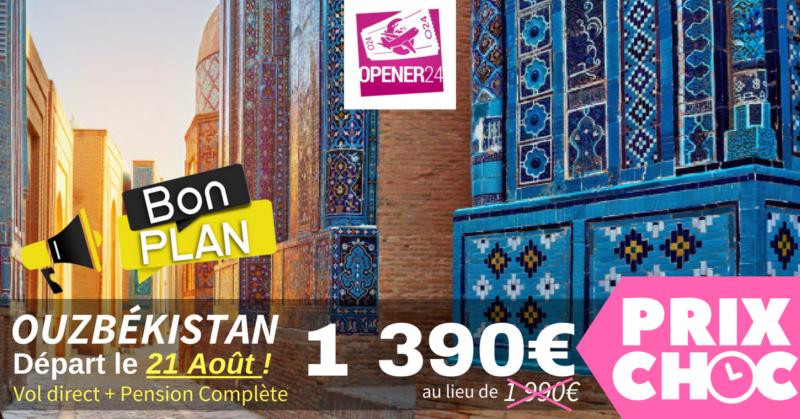 circuit Ouzbékistan pas cher : en groupe ou en privée