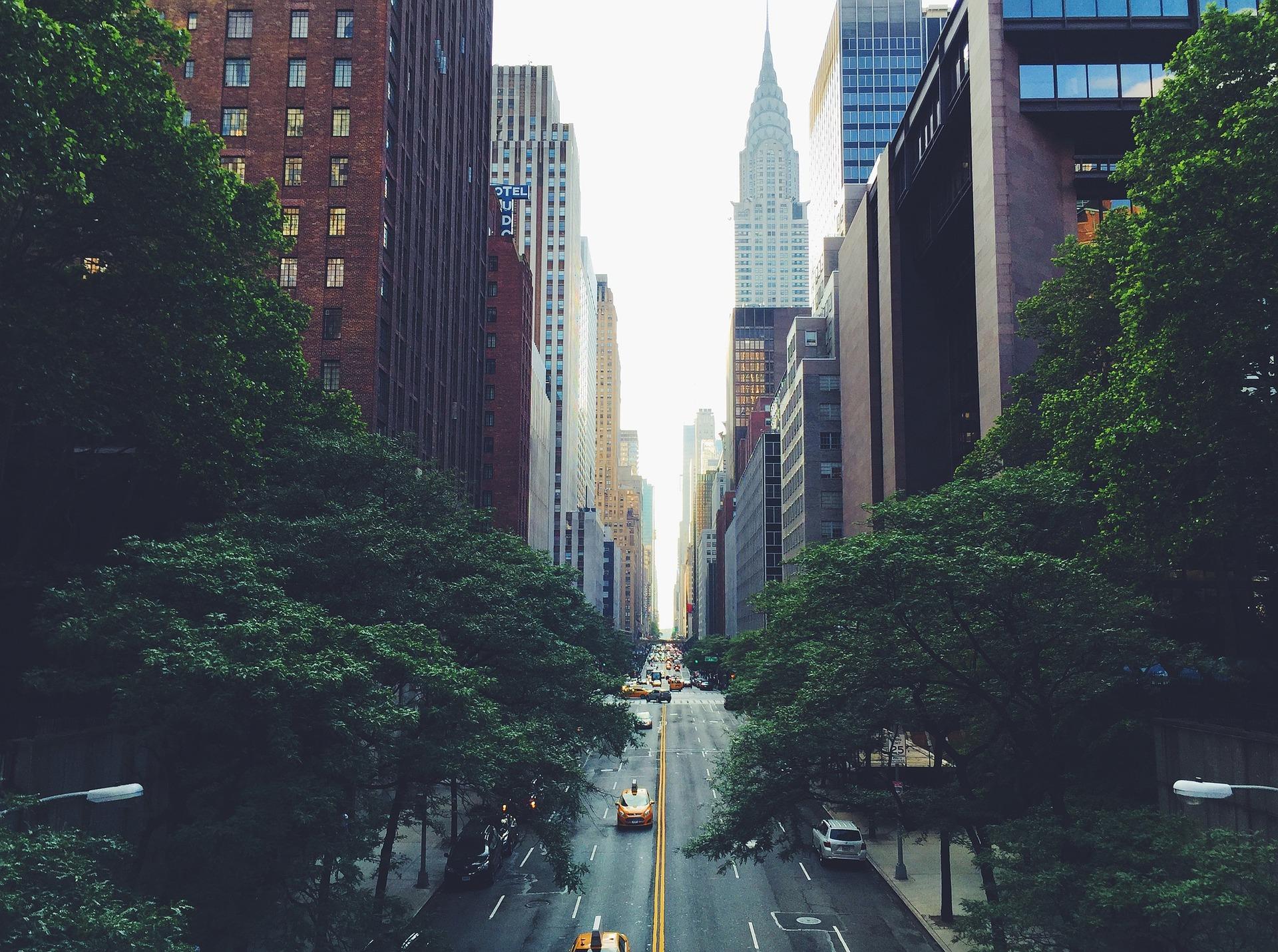 se repérer à new york plan new york rue avenue new york