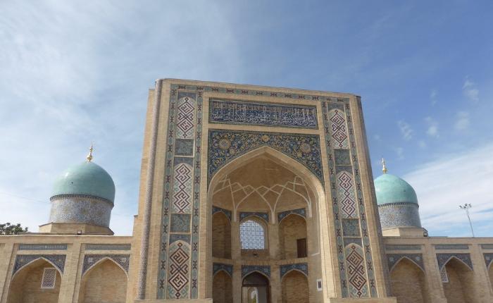 les incontournables de la capitale ouzbeke, quoi faire à Tachkent, séjour en Ouzbékistan, l'ensemble khazrat (khast) imam