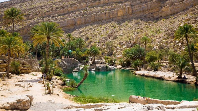 wadis d'oman vallées nature oman tourisme oman